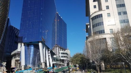 Big buildings.
