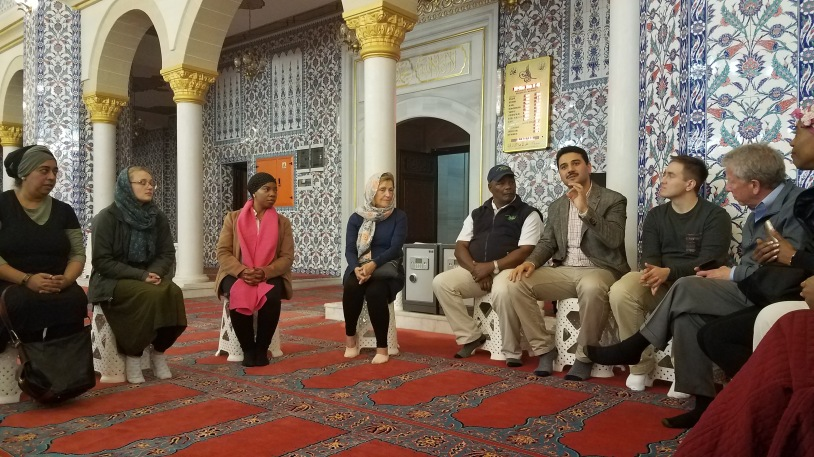 Discussion inside the masjid
