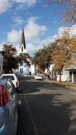 Stellenbosch's Dutch architecture.
