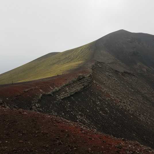 Crater Lake Ljótipollur, Iceland